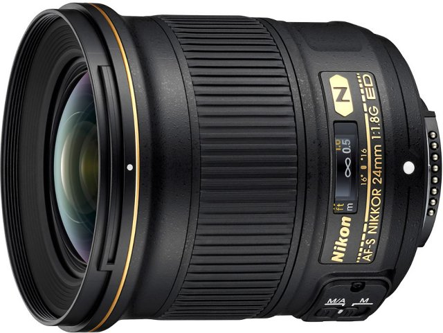 Nikon AF-S Nikkor 24mm f/1.8G ED