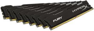 Kingston HyperX Fury DDR4 2133MHz 64GB CL14 (8x8GB)