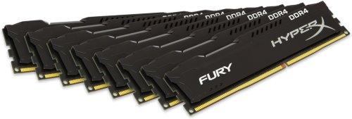 Kingston HyperX Fury DDR4 2133MHz 64GB CL14 (8x8GB)