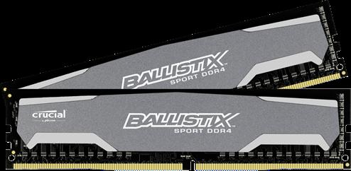 Crucial Ballistix Sport DDR4 2400MHz 8GB (2x4GB)