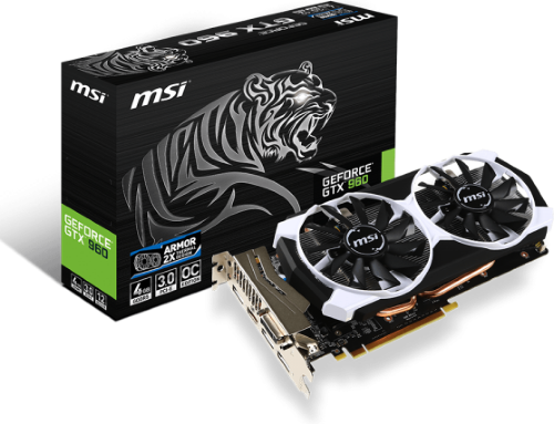 MSI GeForce GTX 950 2GD5T OC