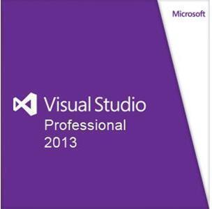 Microsoft VisuaL Studio Pro 2013 Engelsk