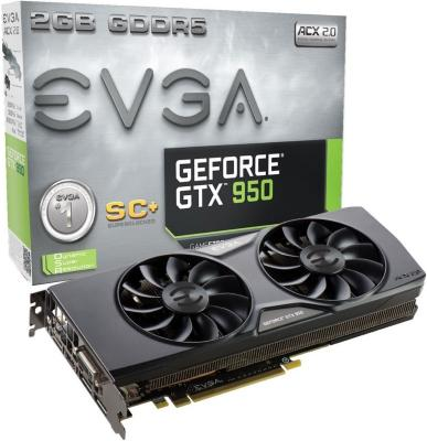 EVGA GeForce GTX 950 SC+ ACX