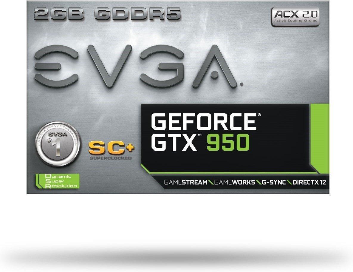 EVGA GeForce GTX 950 SC+ ACX DfXZqZ