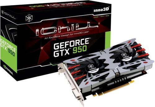 Inno3D NVIDIA GeForce GTX 950 iChill X2 2GB