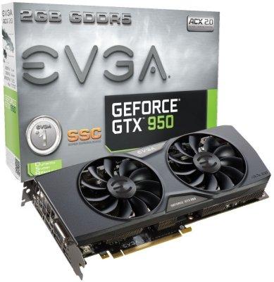 EVGA GeForce GTX 950 2GB SCC