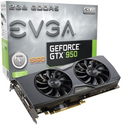 EVGA GeForce GTX 950 2GB SCC