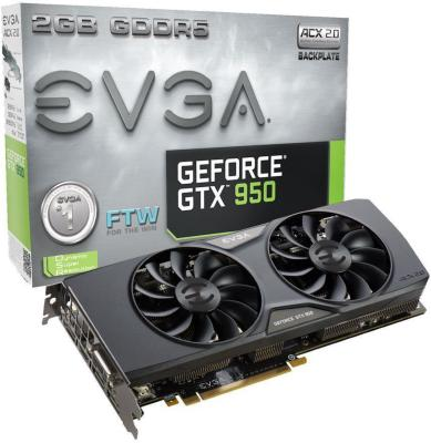 EVGA GeForce GTX 950 2GB FTW