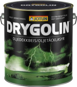 Jotun Drygolin Oljedekkbeis (9 liter)