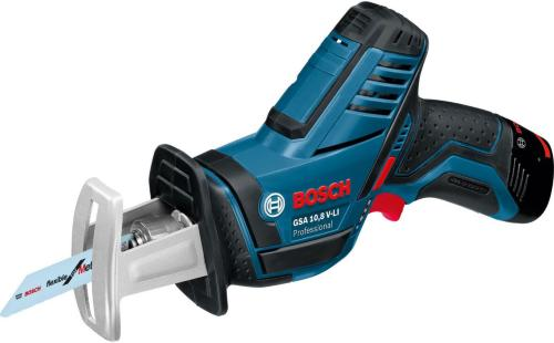 Bosch GSA 10,8 V-LI (2x2,5Ah)
