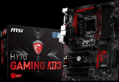 MSI H170 Gaming M3