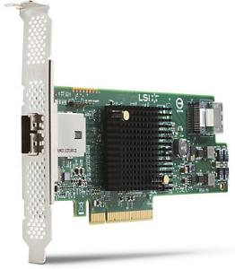 HP LSI 9217-4I4E SAS 6GB/S 8-PORT