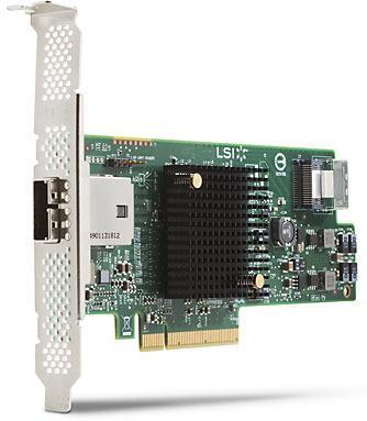 HP LSI 9217-4I4E SAS 6GB/S 8-PORT
