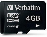 Verbatim microSDHC 4 GB Class 4