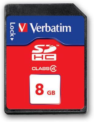 Verbatim SDHC 8 GB Class 4