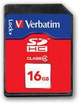 Verbatim SDHC 16 GB Class 4