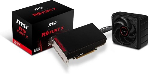 MSI Radeon R9 Fury X