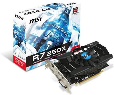 MSI Radeon R7 250X 2GB