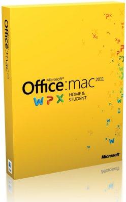 Microsoft Office Mac Home & Student 2011 Engelsk