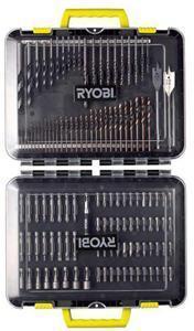 Ryobi RAK125DDF Bor og bitssett 125 deler