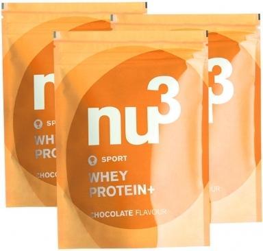 nu3 Whey Protein+ 3x1000g