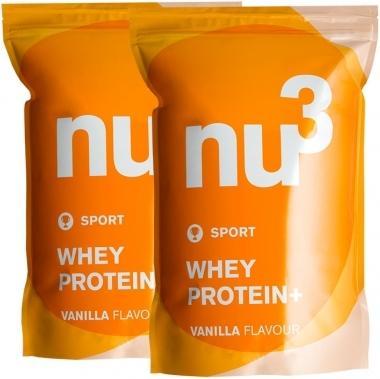 nu3 Whey Protein+ 2x1200g