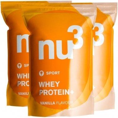 nu3 Whey Protein+ 3x1200g