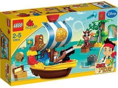LEGO DUPLO Jake Piratskip 10514