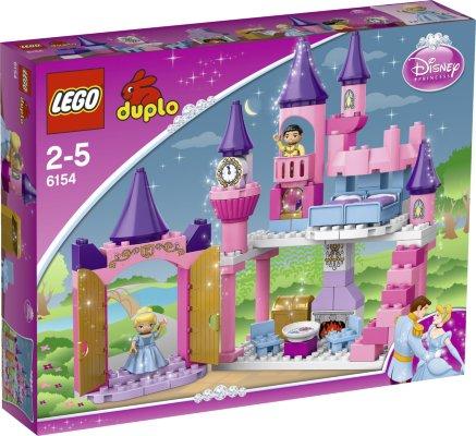 LEGO Duplo Princess Askepott Slott 6154