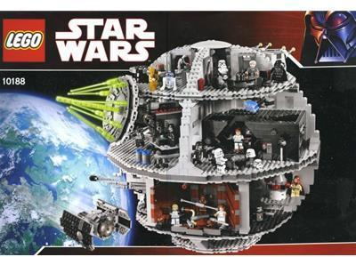 LEGO Exclusive Star Wars DeathStar 10188