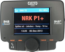Tiny Audio C3 DAB+