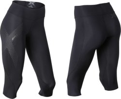 2XU Mid Rise Compression 3/4 Tights (Dame)