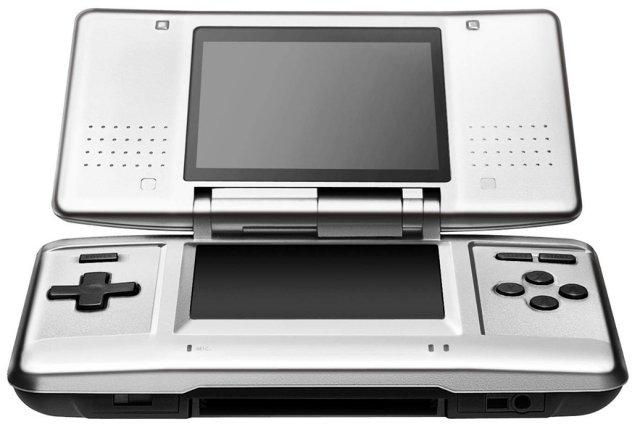 Nintendo DS sølv