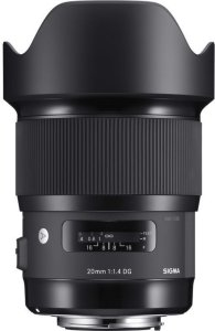 Sigma 20mm f/1.4 DG HSM for Canon