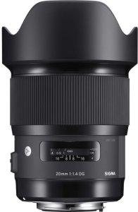Sigma 20mm f/1.4 DG HSM for Nikon