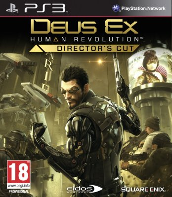 Deus Ex: Human Revolution Director's Cut til PlayStation 3