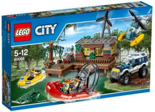 LEGO City Politi Tyvenes Gjemmested