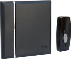 Byron Trådløs Dørklokke 4 Toner(40129)