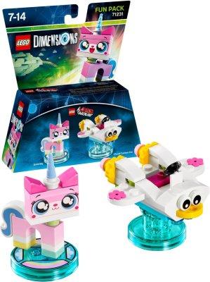 LEGO Dimensions Fun Pack - Unikitty/Cloud Cuckoo Car