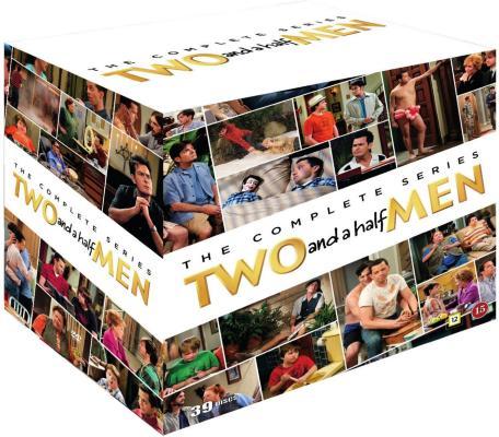 Two and Half Men: komplett serie
