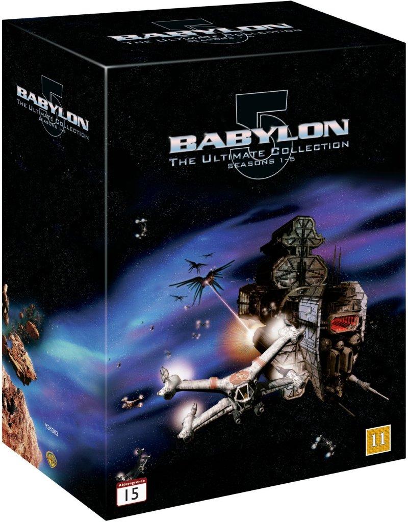 Warner Bro Babylon 5: komplett serie