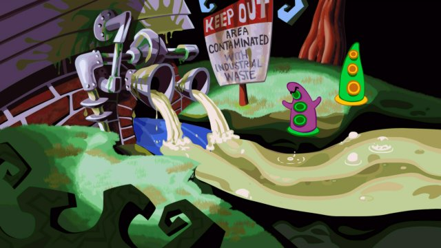Day of the Tentacle Remastered til Playstation 4