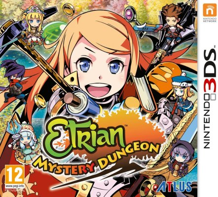 Etrian Mystery Dungeon til 3DS