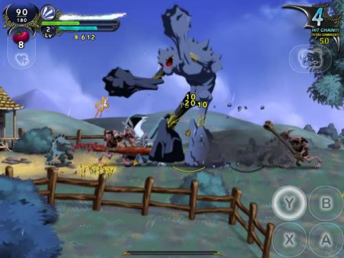 Dust: An Elysian Tail til iPhone