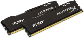 Kingston HyperX Fury Black DDR4 2400MHz 8GB CL15 (2x4GB)