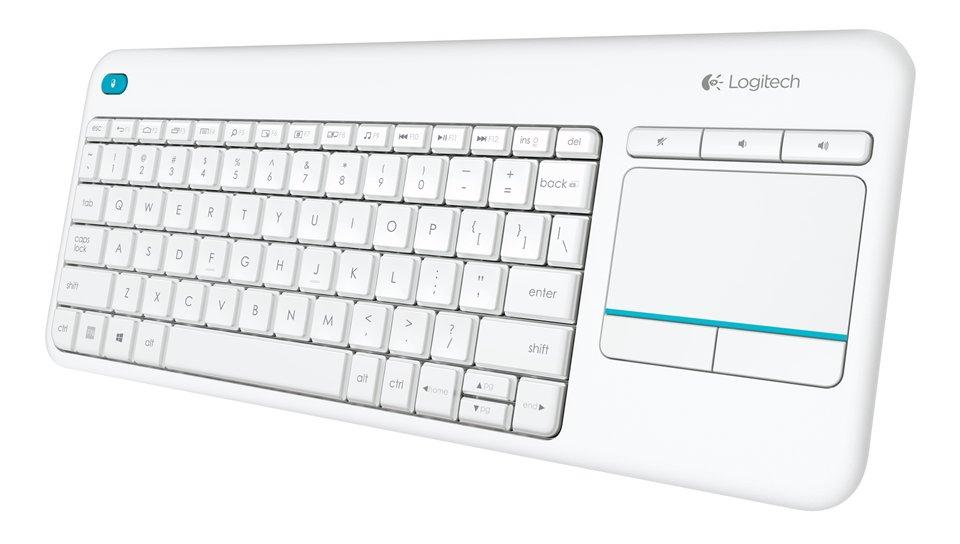 Logitech K400 Plus trådløst HTPC tastatur for TV er (sort
