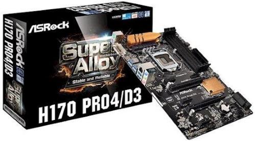 ASRock H170 PRO4/D3