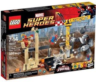 LEGO Marvel Super Heroes 76037 Rhino & Sandman Team-Up