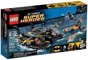 LEGO The Batboat Harbor Pursuit