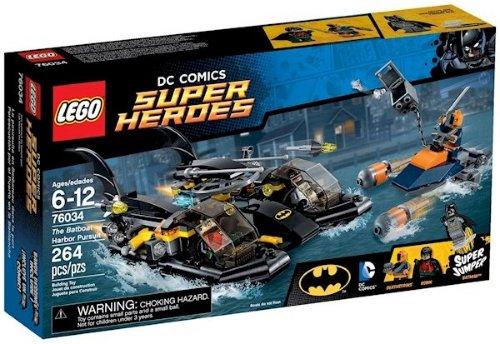 LEGO The Batboat Harbor Pursuit